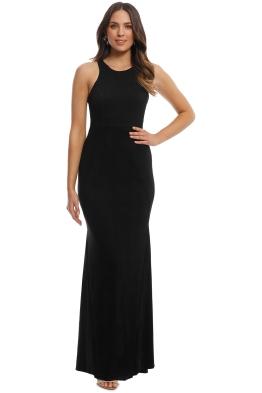 Tania Olsen - Emily Dress - Black - Front
