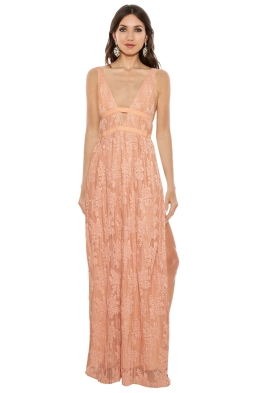 The Jetset Diaries - Gabrielle Maxi Dress - Front