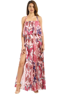 The Jetset Diaries - Lana Floral Jumpsuit - Pink - Front