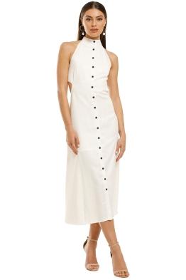 Third-Form-Vice-Versa-Maxi-Dress-White-Front