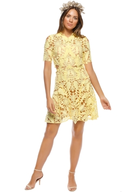 Thurley - Dandelion Mini Dress - Front