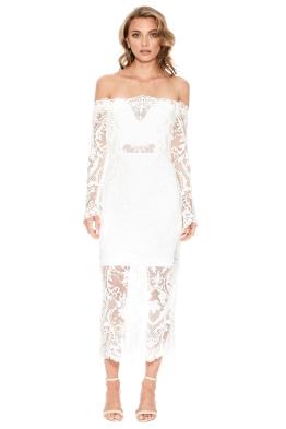 Thurley - Emila Dress - White - Front