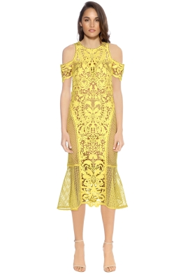 Thurley - Enchanted Garden Midi Dress - Front