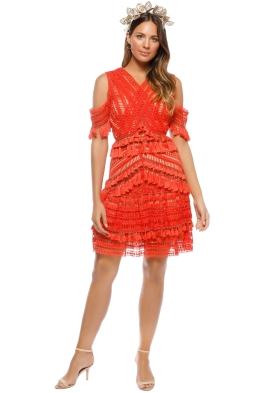 Thurley - Flamenco Dress - Mandarin - Front