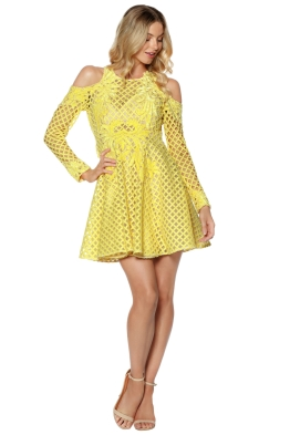 Thurley - Hybrid Dress Daffodil - Yellow - Front