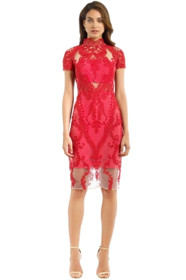 Thurley - Indianna Dress - Red - Front