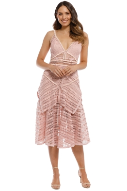 Thurley - Juliette Dress - Dusty Pink - Front