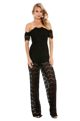 Thurley - Love Lost Onesie - Black - Front