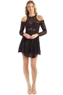 Thurley - Scarborough Fair Mini Dress Back - Black - Front