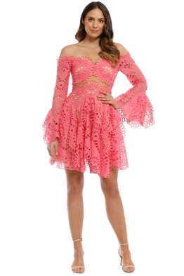 Thurley - Scorpio Dress - Watermelon - Front