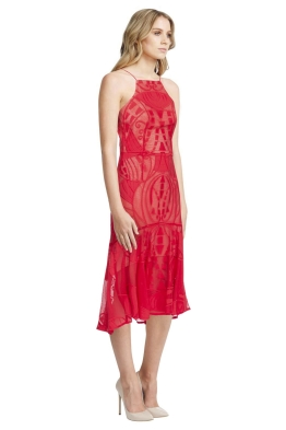 Thurley - Tabitha Dress - Red - Side