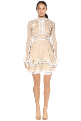 Thurley - Tea Party Mini Dress - Front - Blush