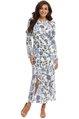 Thurley - Valentina Dress - Cornflower - Front