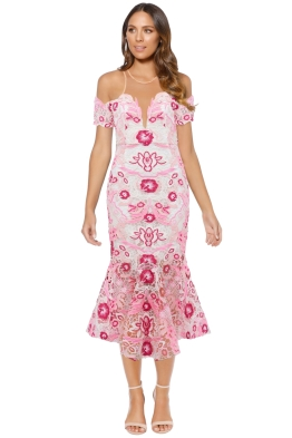 Thurley - Venus Dress - Pink - Front