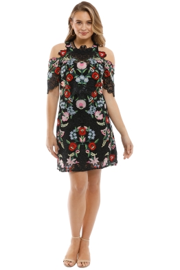 Thurley - Fiesta Dress - Front - Floral