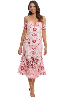 Thurley - Venus Dress - Pink Multi - Front