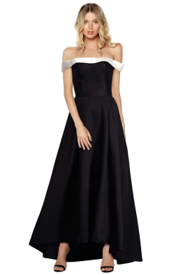 Tina Holy - Mikado Gown - Front