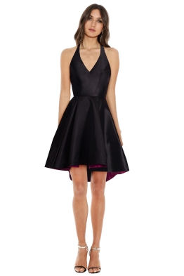 Tina Holy - Mikado Mini Dress - Front