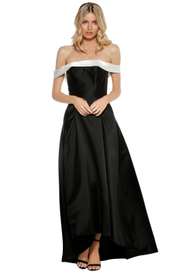 Tinaholy - Mikado Gown - Front