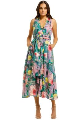 Trelise-Cooper-Ladies-First-Dress-Purple-Floral-Front