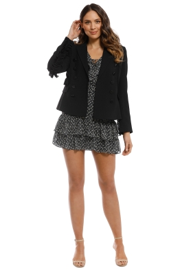 Trelise Cooper - No Breast For The Wicked Jacket - Black - Front