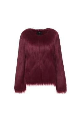 Unreal Fur - Unreal Dream Jacket - Burgundy - Front