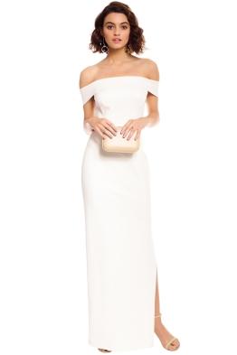 Unspoken - Jamai Long Gown - Ivory - Front