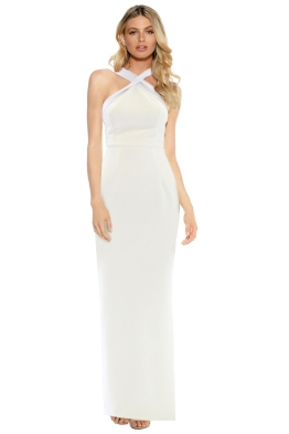 Unspoken - Seven Seas Long Dress - Ivory - Front
