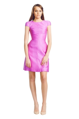 Wayne Cooper - Cocktail Dress - Front - Purple
