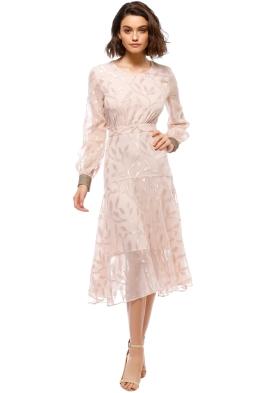 We Are Kindred - Luella Leaf Dress - Ballet - Front
