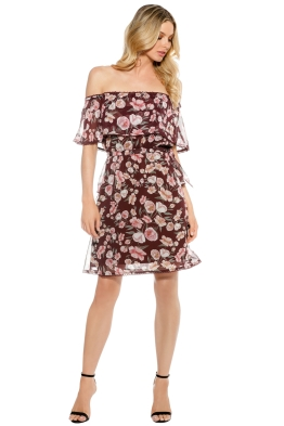 We Are Kindred - Meg Off Shoulder Dress - Front