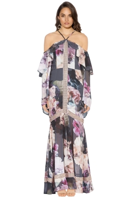 We Are Kindred - Valentina Split Maxi Dress - Front