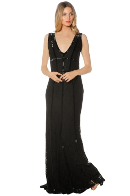 When Freddie Met Lilly - Francesca Gown - Black - Front