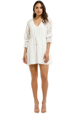 Wish-Frame-Mini-Dress-White-Front
