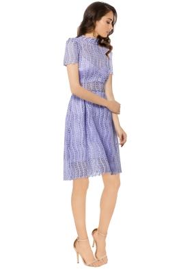 Yeojin Bae - Applique Lace Sienna Dress - Lilac - Side