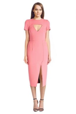 Yeojin Bae - Double Crepe Amelia Dress - Front