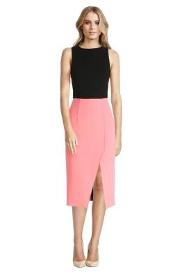 Yeojin Bae - Double Crepe Lisette Dress - Pink - Front