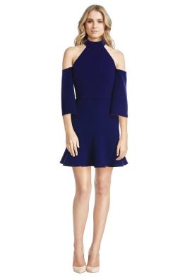 Yeojin Bae - Double Crepe Nadine Godet Dress - Front