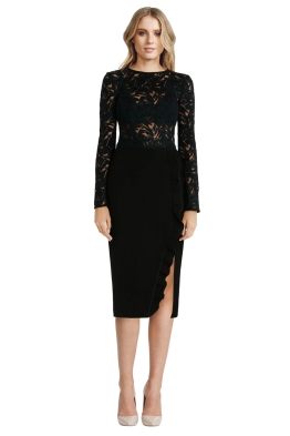 Yeojin Bae - Embroidered Tulle Arabella Dress - Front