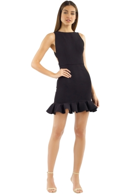 Yeojin Bae - TIlly Dress - Black - Front