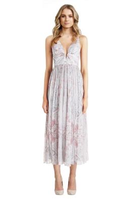 Zimmermann - Arcadia Plunge V Dress - White - Front