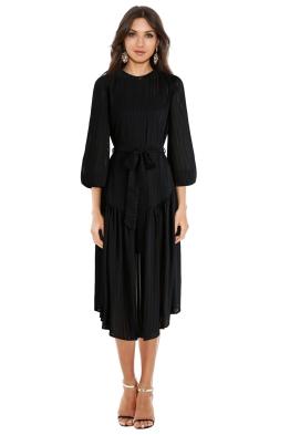 Zimmermann - Lavish Stripe Slouch Dress - Front