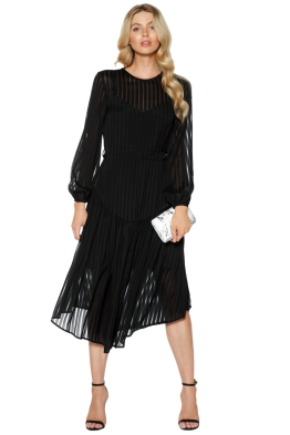 Zimmermann - Lavish Stripe Slouch Dress - Front