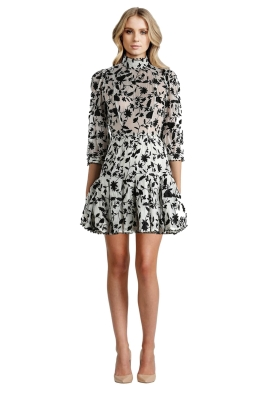 Zimmermann - Master Embroidered Tuck Dress - Front