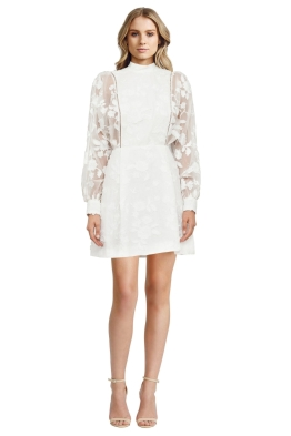 Zimmermann - Pearl Mischief Manor Dress - White - Front