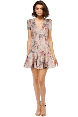 Zimmermann - Radiate Flip Dress - Blush Print - Front