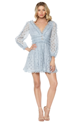 Zimmermann - Sky Winsome Tea Dress - Front