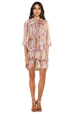 Zimmermann - Winsome Flounce Dress - Sunbleach - Front