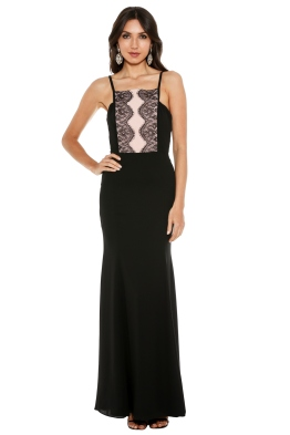 Fame & Partners - Megan Lace Dress - Front