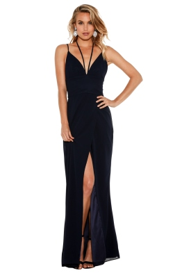 Fame & Partners - Siren Flutter Dress - Front